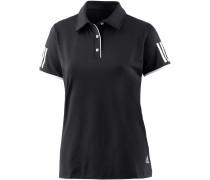CLUB POLO Tennisshirt Damen, schwarz