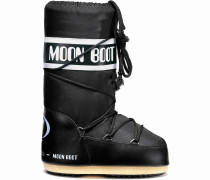 Moon Boot Nylon Winterschuhe, schwarz