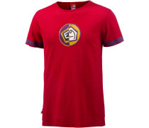 1/2 T-Shirt Herren, rot