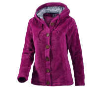 Fleece Fleecejacke Damen, Lila