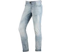 Saskia Skinny Fit Jeans Damen, light blue denim