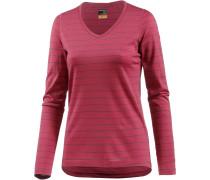 Oasis Langarmshirt Damen, stripe wild rose/harmony