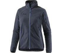Lakko Fleecejacke Damen, nightblue mel