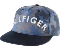 Cap Herren, blau/camouflage