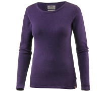 Knit Strickpullover Damen, alpine purple