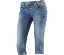 Ulla 3/4-Jeans Damen, blau