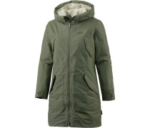 Rocky Point Parka Parka Damen, woodland green