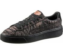 Basket Platform VR Sneaker Damen, Black- Black