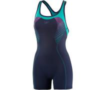 Fit Legsuit Kickback Schwimmanzug Damen, navy/jade