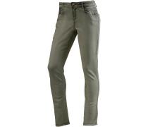 Skinny Fit Jeans Damen, grün