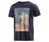 The Chilled One Printshirt Herren, blau