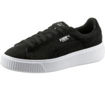 Basket Platform DE Sneaker Damen, Black- Black