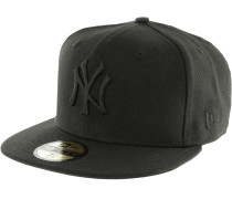 59fifty Black on Black NY Yenkees Cap, schwarz