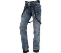 Bente Boyfriend Jeans Damen, blau