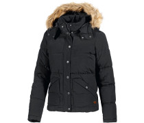 Under Winter Steppjacke Damen, schwarz