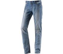 NiniTZ Skinny Fit Jeans Damen, blau