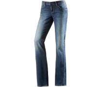 Bella Bootcut Jeans Damen, blau