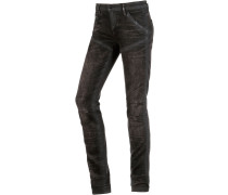 5620 Mid Skinny Skinny Fit Jeans Damen, schwarz