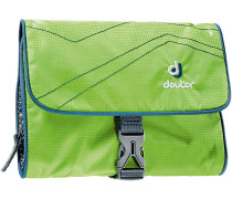 Wash Bag I Kulturbeutel, grün/dunkelblau