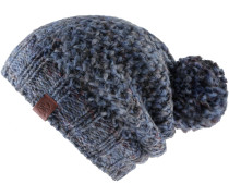 KNITTED & POLAR HAT MARGO Beanie Damen, blue