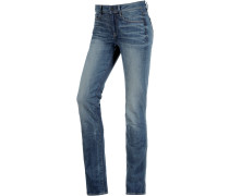 3301 Contour High Straight Straight Fit Jeans Damen, blau