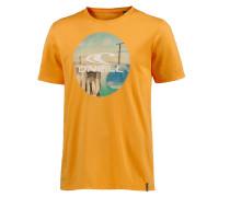 Look Back T-Shirt Herren, gelb