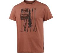 Flügelfischer T-Shirt Herren, orange