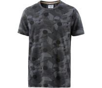 Drop T-Shirt Herren, Black Wood
