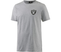 Oakland Raiders Longshirt Herren, grau