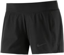 Baseline Tennisshorts Damen, schwarz