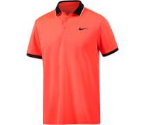 Team Tennis Polo Herren, orange