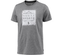 CASUAL 10 Printshirt Herren, grau