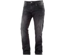 Marcus Straight Fit Jeans Herren, schwarz