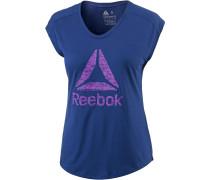 Workout Ready Supremium T-Shirt Damen, deep cobalt-deep cobalt