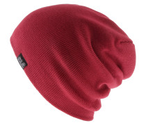 Rib Beanie, indian red