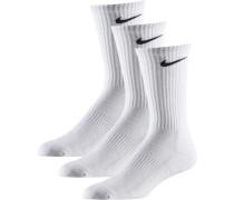 CUSHION CREW Socken Pack, weiß