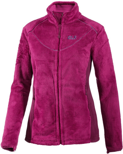 jack wolfskin damen caldera fleecejacke damen rosa. Black Bedroom Furniture Sets. Home Design Ideas
