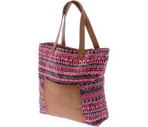 Inkaprint Shopper Damen, rosa/grau
