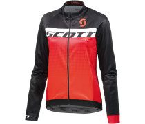 RC AS WP Fahrradjacke Damen, black/tangerine orange