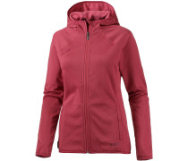Get Away Fleecejacke Damen, rot