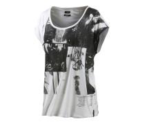 Clip T-Shirt Damen, mehrfarbig