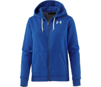 Favorite Sweatjacke Damen, lapis blue light heather-white-lapis blue