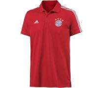 FC Bayern Poloshirt Herren, FCB TRUE RED