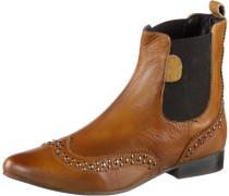Chelsea Boots Damen, gelb
