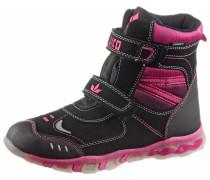 Winterschuhe Kinder, schwarz-pink