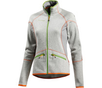 Laurien Strickfleece Damen, grau