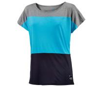 Come to Me T-Shirt Damen, türkis/grau/navy