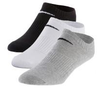 LIGHTWEIGHT NO SHOW Socken Pack, mehrfarbig