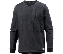 Sweatshirt Herren, black-black-stealth grey