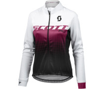 RC AS WP Fahrradjacke Damen, black/plum violet